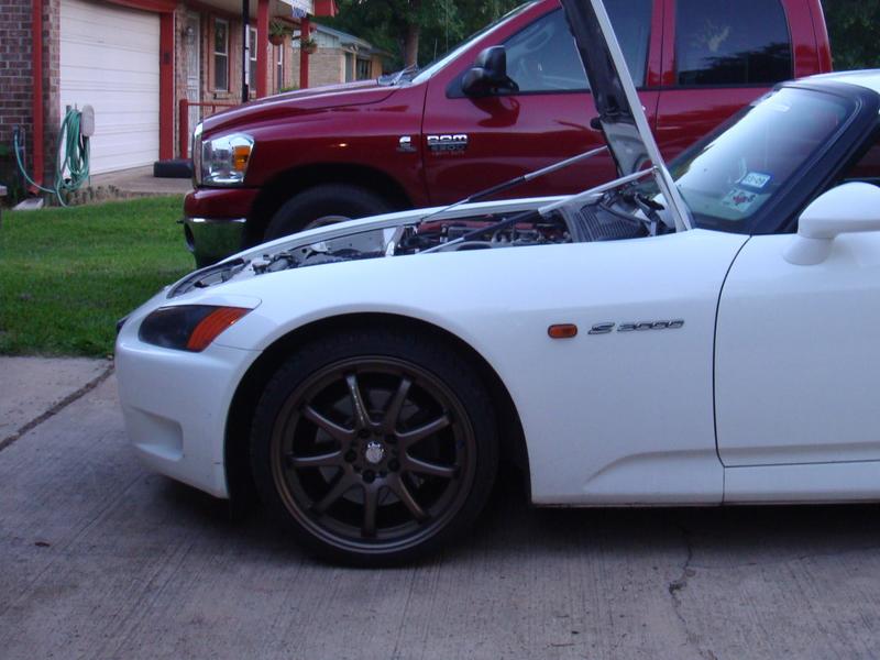 Nrg Hood Dampers Carbon Fiber Honda S2000 00 09 Ebay