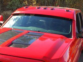 Striker Striker Windshield Drop Visor   Exterior Sun Visor for Chevy ... 43604bb5dd9